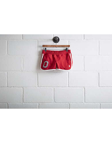Tailgate Womens Ohio State Track Short -