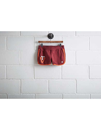 Tailgate Womens Virginia Tech Track Short -