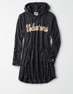 Tailgate Women's Tennessee Volunteers Plush Hoodie Dress