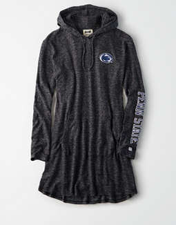 Tailgate Women's PSU Nittany Lions Plush Hoodie Dress