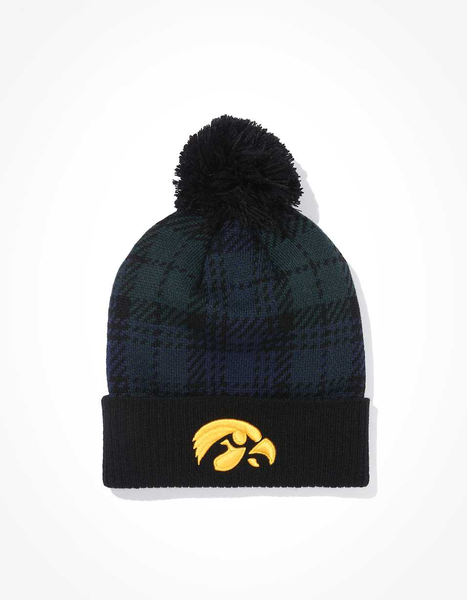 Tailgate Iowa Hawkeyes Plaid Beanie