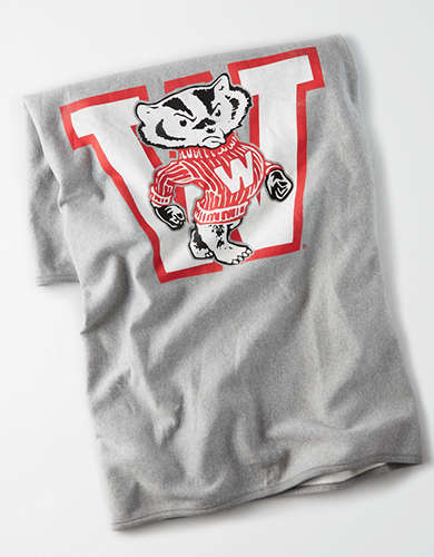 Tailgate Wisconsin Fleece Blanket - Free Returns