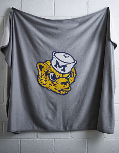 Tailgate Michigan Fleece Blanket - Free Returns