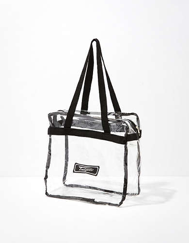 Tailgate Clear Tote Bag