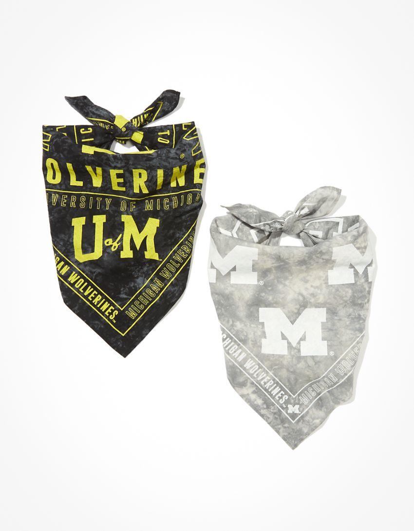 Tailgate Michigan Wolverines Tie-Dye Bandana 2-Pack