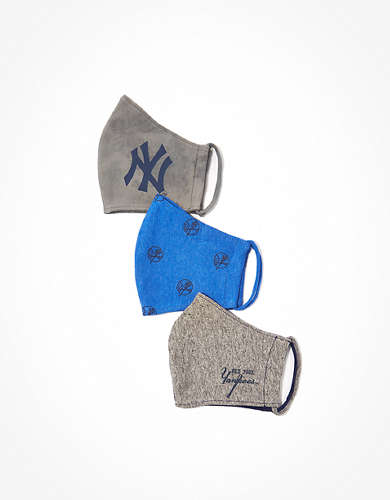 Tailgate New York Yankees Face Mask 3-Pack