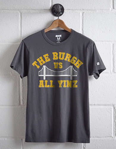 Tailgate Men's Burgh Vs. All Yinz T-Shirt -