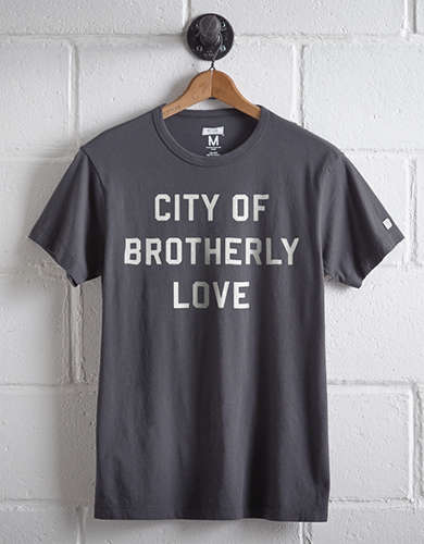 Tailgate Men's City Of Brotherly Love T-Shirt -