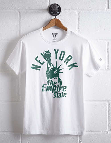 Tailgate Men's New York Empire State T-Shirt - Free Returns