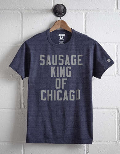 Tailgate Men's Sausage King Of Chicago T-Shirt -