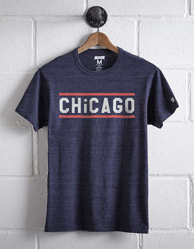 Tailgate Men's Chicago Stripe T-Shirt -