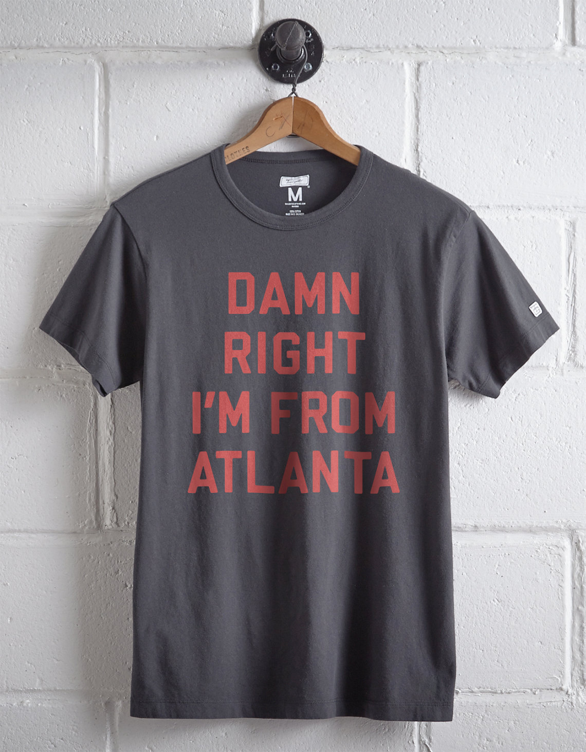 Tailgate Men's Damn Right Atlanta T-Shirt. Placeholder image. Product Image
