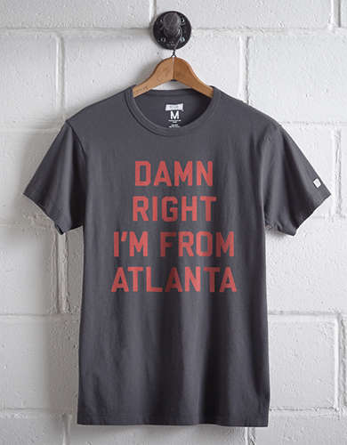 Tailgate Men's Damn Right Atlanta T-Shirt -