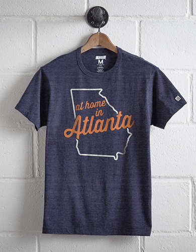 Tailgate Men's At Home In Atlanta T-Shirt -