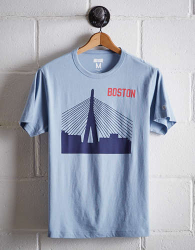 Tailgate Men's Boston Bridge T-Shirt - Free Returns