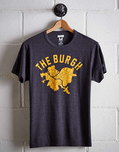 Tailgate Men's The Burgh Map T-Shirt - Free Returns