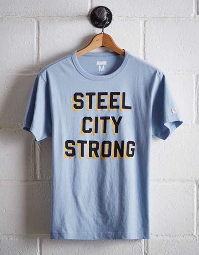 Tailgate Men's Steel City Strong T-Shirt - Free Returns