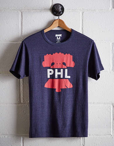 Tailgate Men's PHL Liberty Bell T-Shirt - Free Returns
