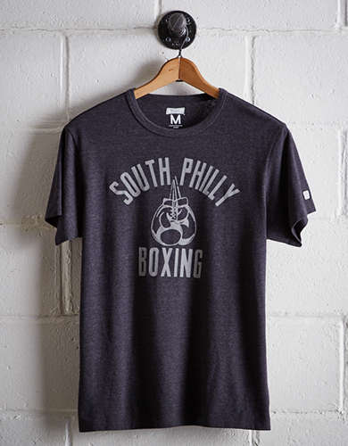 Tailgate Men's South Philly Boxing T-Shirt - Free Returns