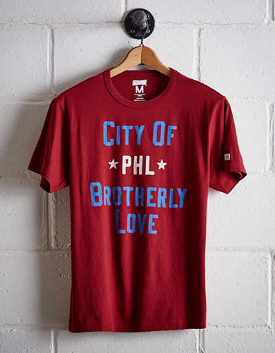 Tailgate Men's PHL City of Brotherly Love T-Shirt - Free Returns