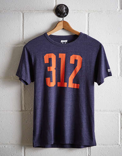Tailgate Men's Chicago 312 T-Shirt - Free Returns