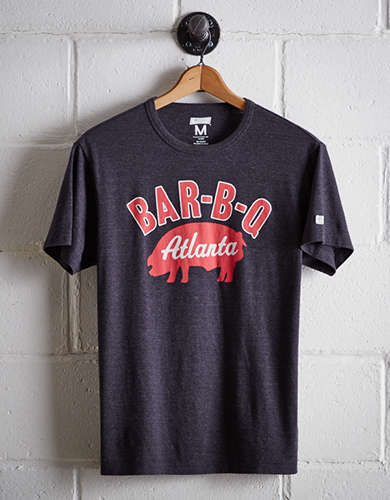 Tailgate Men's Atlanta BBQ T-Shirt - Free Returns