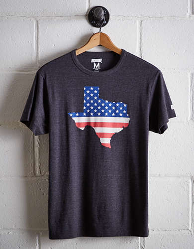 Tailgate Men's Texas Americana T-Shirt - Free Returns