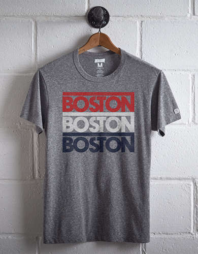 Tailgate Men's Boston Repeating T-Shirt -
