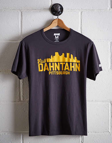 Tailgate Men's Dahntahn Pittsburgh T-Shirt - Free Returns