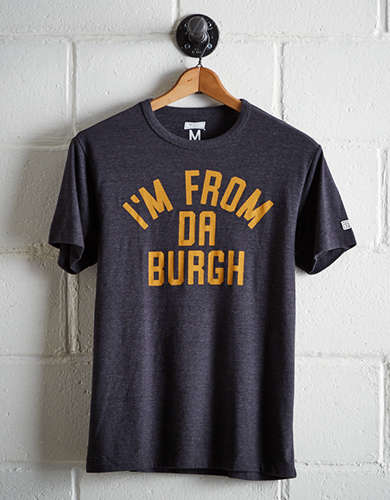 Tailgate Men's From Da Burgh T-Shirt - Free Shipping + Free Returns