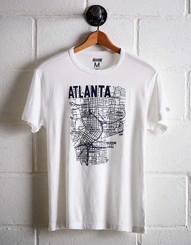Tailgate Men's Atlanta Map T-Shirt - Free Returns