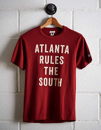 Tailgate Men's Atlanta Rules The South T-Shirt - Free Returns