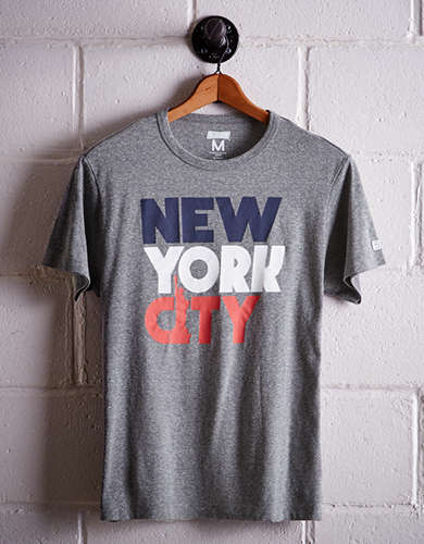 Tailgate Men's New York City Apple T-Shirt - Free Returns