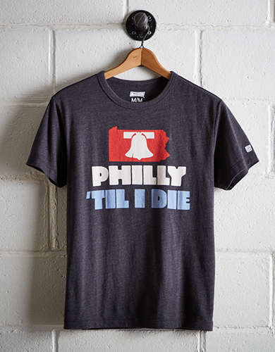 Tailgate Men's Philly 'Til I Die T-Shirt - Free Returns