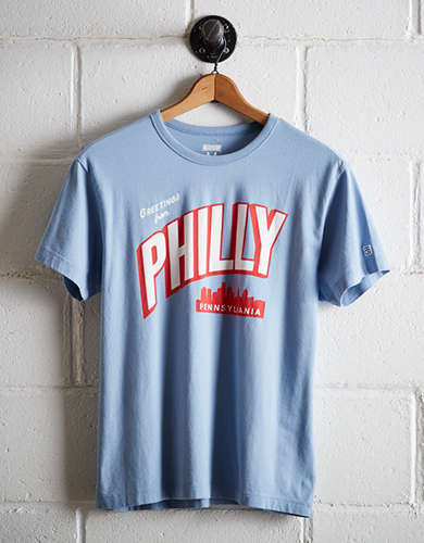 Tailgate Men's Greeting From Philly T-Shirt -