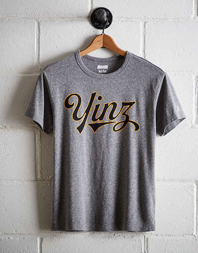 Tailgate Men's Yinz T-Shirt - Free Returns