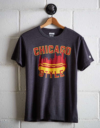 Tailgate Men's Chicago Style T-Shirt - Free Returns