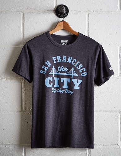 Tailgate Men's The City By the Bay T-Shirt - Free Returns