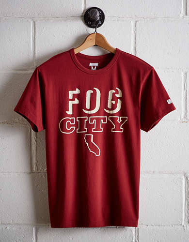 Tailgate Men's Fog City T-Shirt - Free Returns