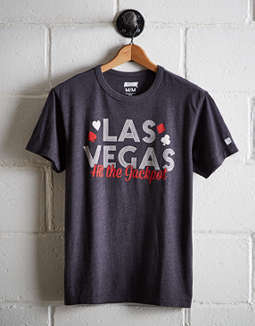 Tailgate Men's Las Vegas Hit the Jackpot T-Shirt
