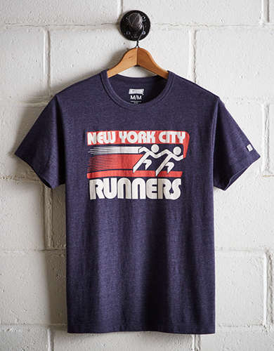 Tailgate Men's New York City Runners T-Shirt - Free Returns