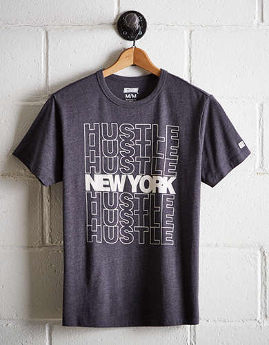 Tailgate Men's New York Hustle T-Shirt - Free Returns