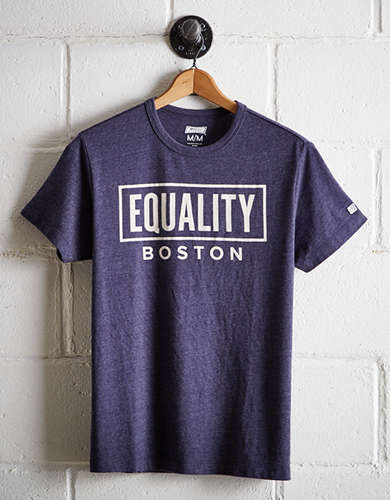 Tailgate Men's Boston Equality T-Shirt - Free Returns