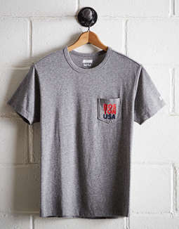 Tailgate Men's Boston Pocket Tee