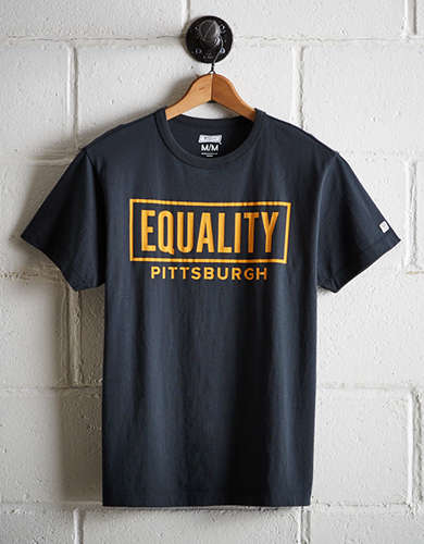 Tailgate Men's Pittsburgh Equality T-Shirt - Free Returns