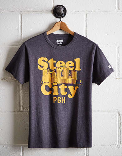 Tailgate Men's Steel City PGH T-Shirt - Free Returns