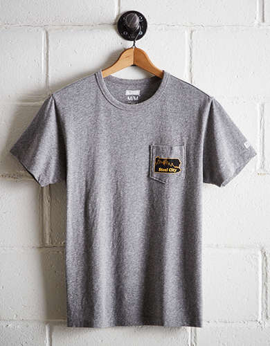 Tailgate Men's Steel City Pocket Tee - Buy One Get One 50% Off
