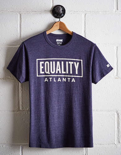 Tailgate Men's Atlanta Equality T-Shirt - Free Returns