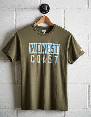 Tailgate Men's Midwest Coast T-Shirt - Free Returns