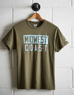 Tailgate Men's Midwest Coast T-Shirt